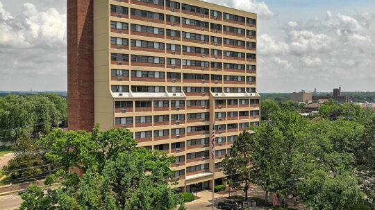 Hosmer Apartments exterior